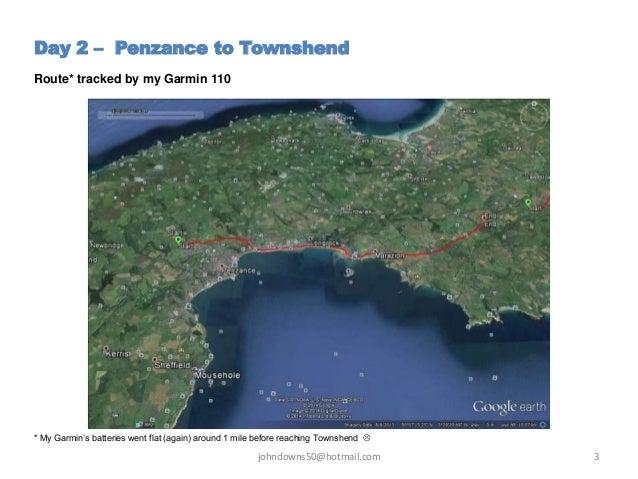 A Ramble through Cornwall -  Day 2 - Penzance to Townshend  Slide 3