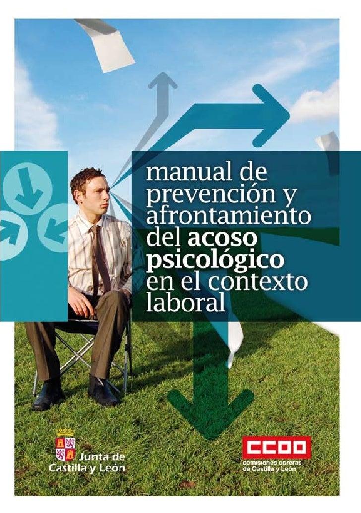 manual deprevención y afrontamientode acoso psicológicoen el contexto laboral.