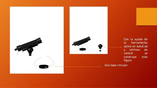 Con la ayuda de  la herramienta  spline en AutoCad  y vértices de  control se  construye esta  figura  Una base circular