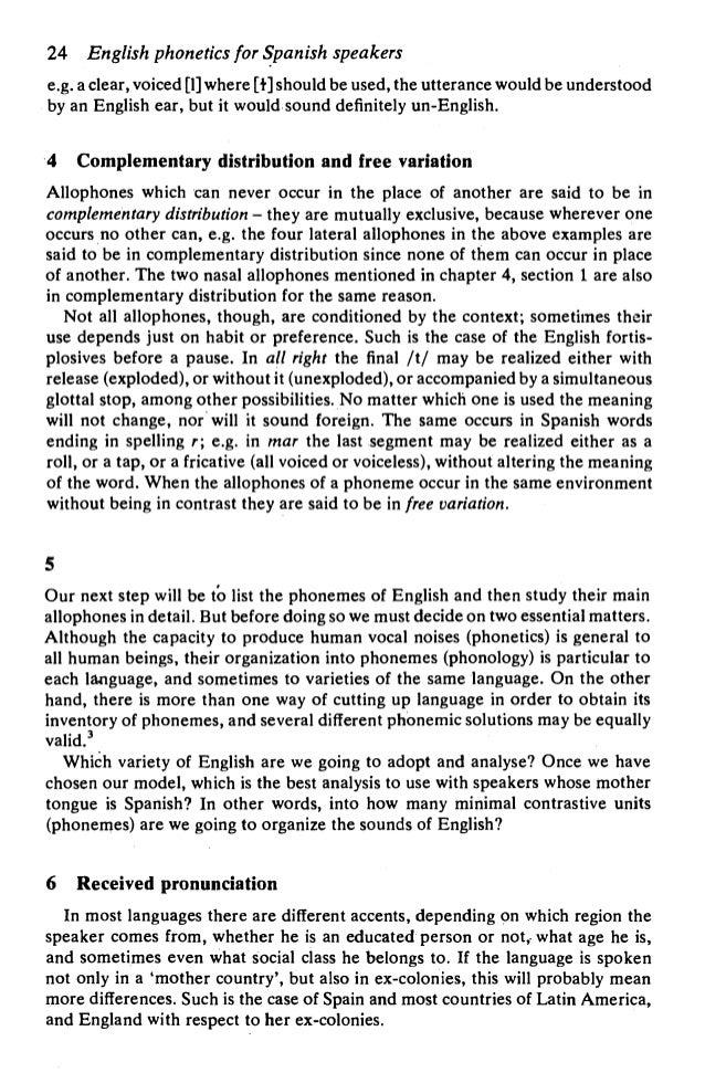 English segmental phonology