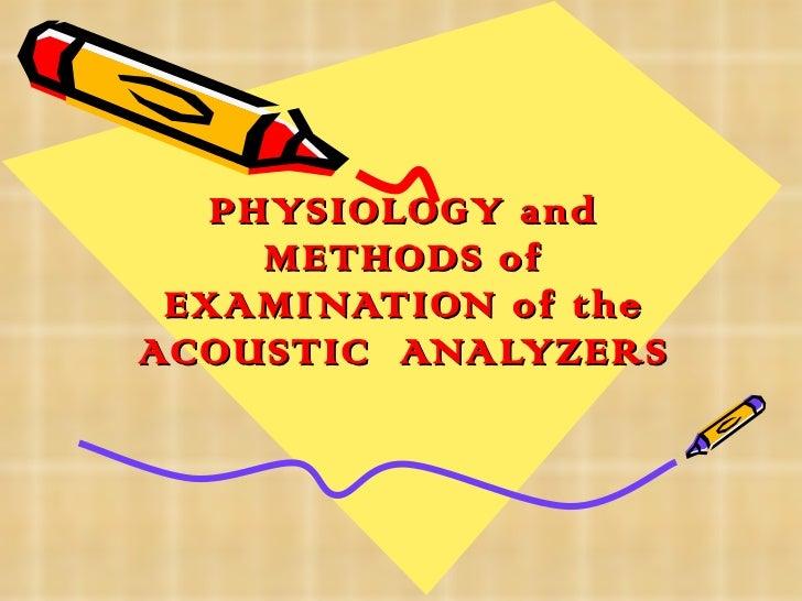 Acoustic analyzer