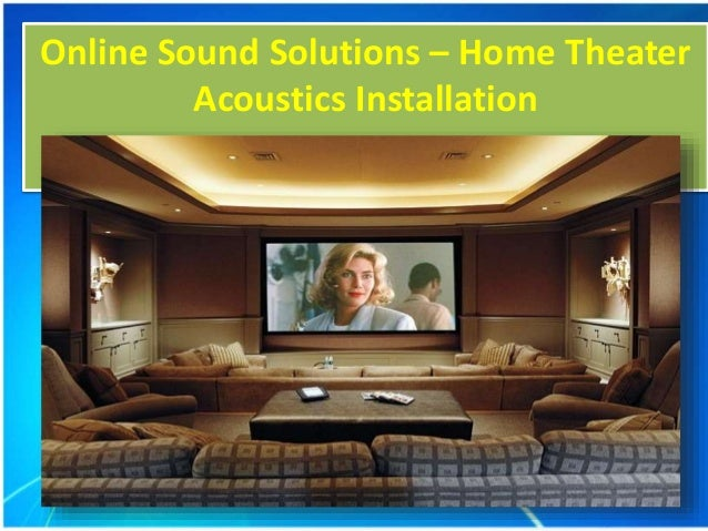 home theater acoustics installation acoustic panel. Black Bedroom Furniture Sets. Home Design Ideas