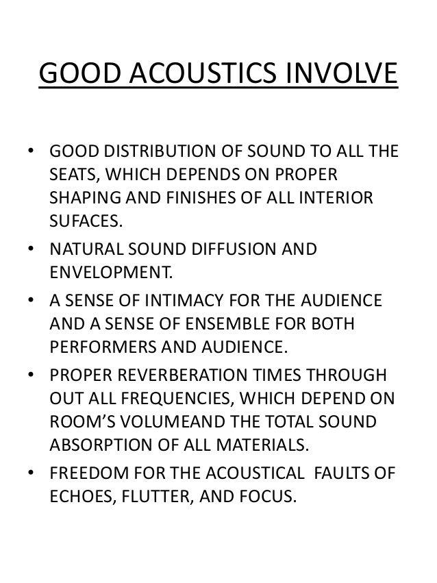 Acoustics Slide 2