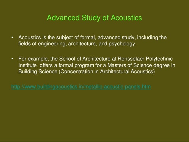 Acoustics India Private Limited