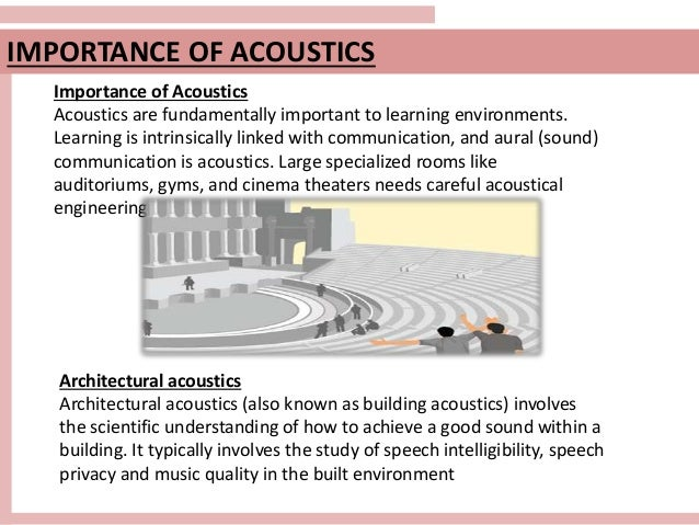 Acoustical Engineering | Acoustical Solutions