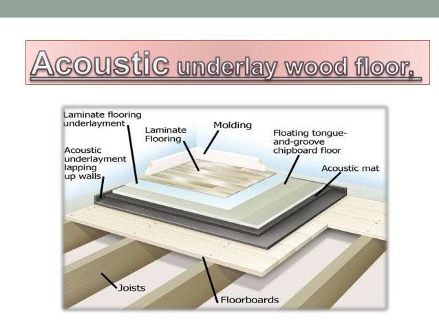 Acoustic Underlay Wood Floor