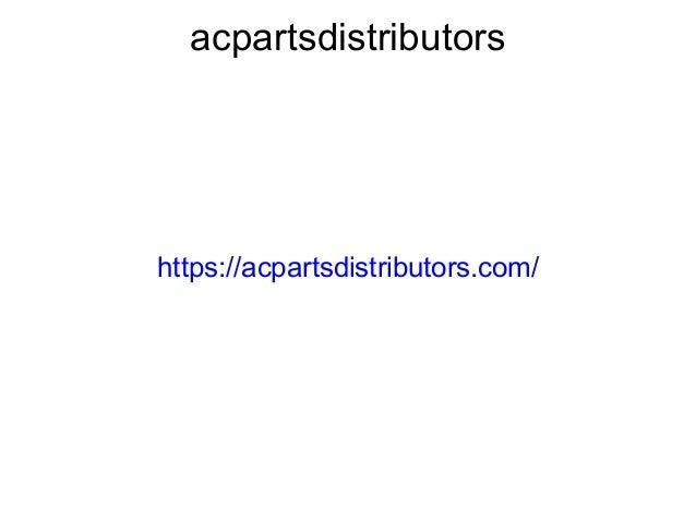 acpartsdistributors https://acpartsdistributors.com/