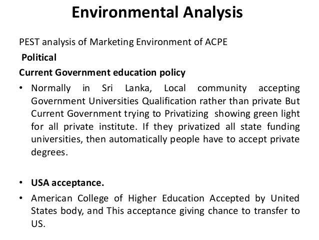 environmental analysis process
