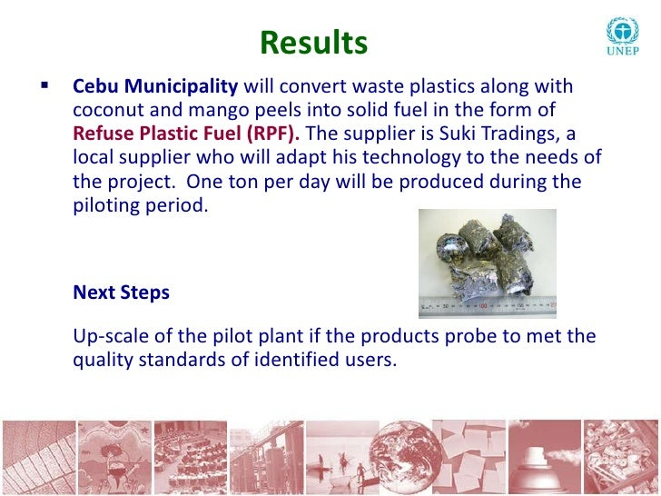 Waste plastics into fuel