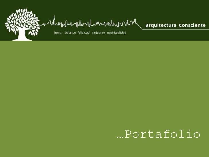 …Portafolio<br />