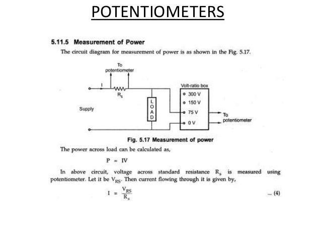 Ac Potentiometer Wiring - Wiring Diagram Schematics on