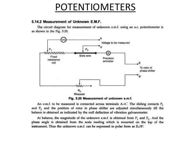 ac potentiometer emmi rh slideshare net  ac potentiometer circuit diagram