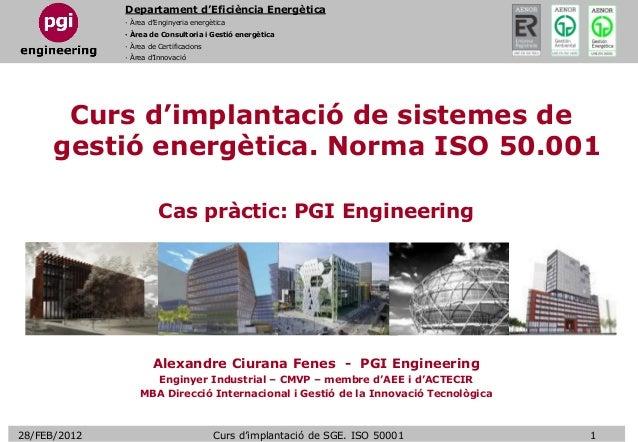 Departament d'Eficiència Energètica · Àrea d'Enginyeria energètica · Àrea de Consultoria i Gestió energètica · Àrea de Cer...