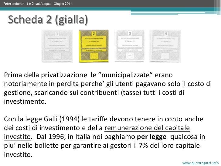"""Prima della privatizzazione le """"municipalizzate"""" erano notoriamente in perdita perche' gli utenti pagavano solo il costo d..."""