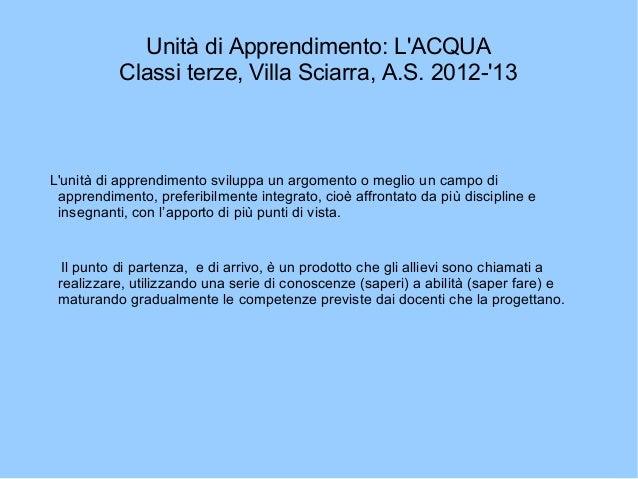 Classi Villa Sciarra