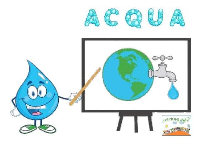 Che forma ha l'acqua?