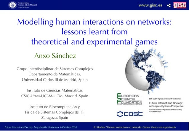 Modeling human interactions on networks: lessons learned from experimental and theoretical games