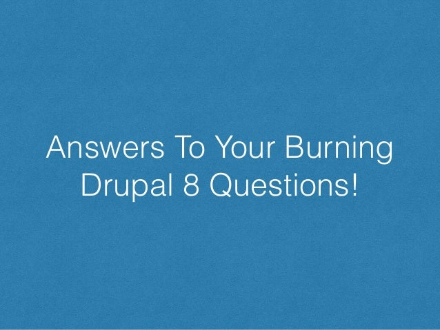 Sticking with D7? Here's how to get D8 hotness today! Drupal 8 Core Feature Drupal 7 Contrib Equivalent WYSIWYG CKEditor:...