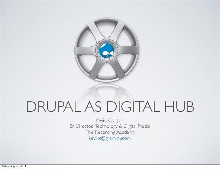 DRUPAL AS DIGITAL HUB                                       Kevin Colligan                         Sr. Director, Technolog...
