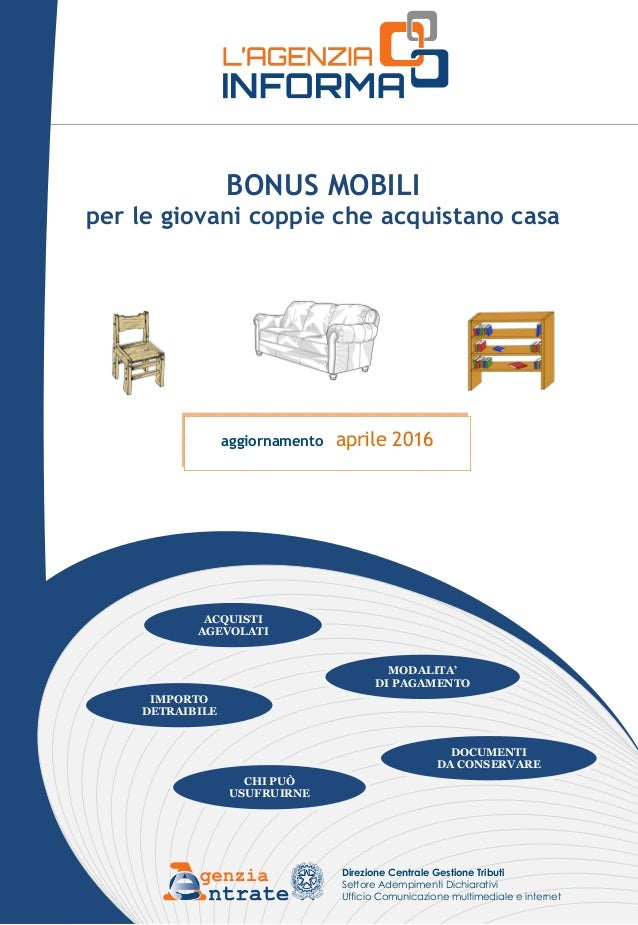 Acquistare un divano nuovo con il bonus mobili giovani for Bonus mobili giovani coppie