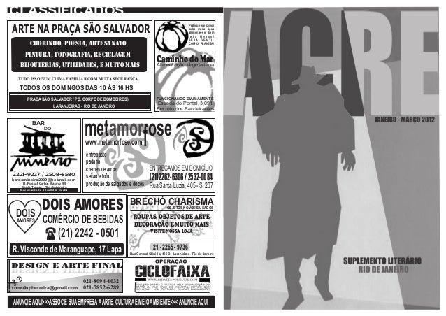 29e9e2c1676 Suplemento Acre 1ª edição (janeiro março 2012)