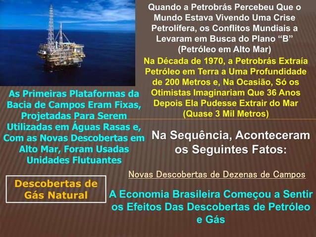 Quando a Petrobrás Percebeu Que o Mundo Estava Vivendo Uma Crise Petrolífera, os Conflitos Mundiais a Levaram em Busca do ...