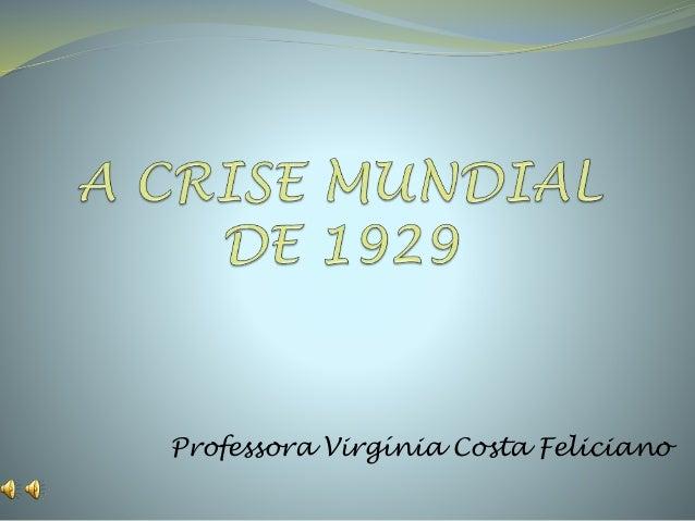 Professora Virgínia Costa Feliciano