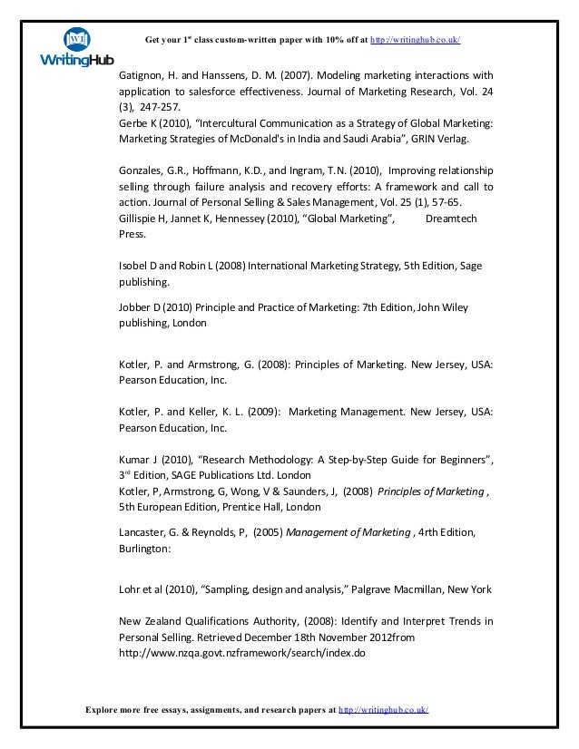 research papers on marketing topics pdf