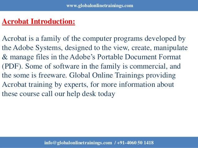 ... 3. Www.globalonlinetrainings.com Acrobat ...
