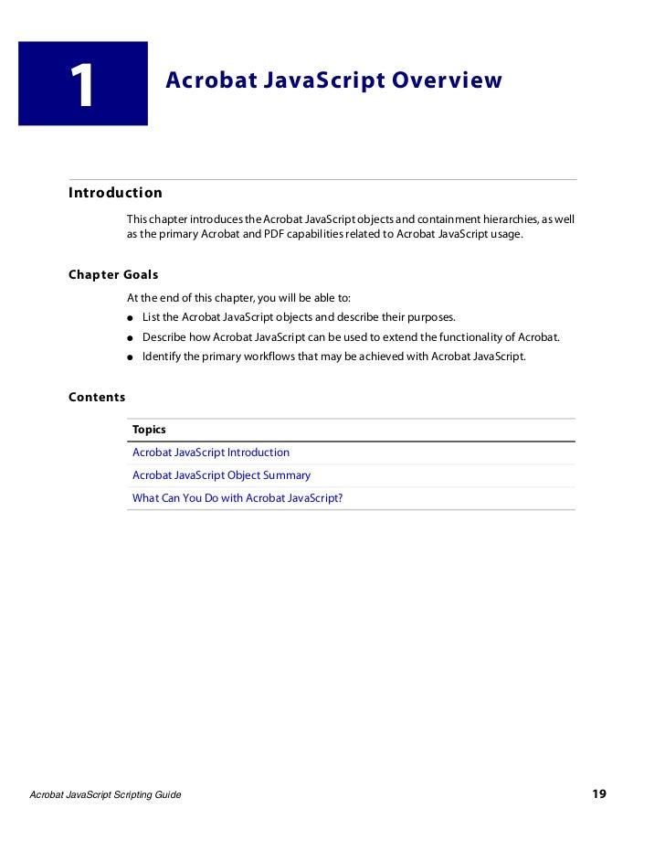Acro js guide