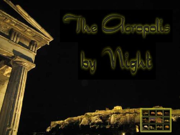 PowerPoint:  Acropolis by Night