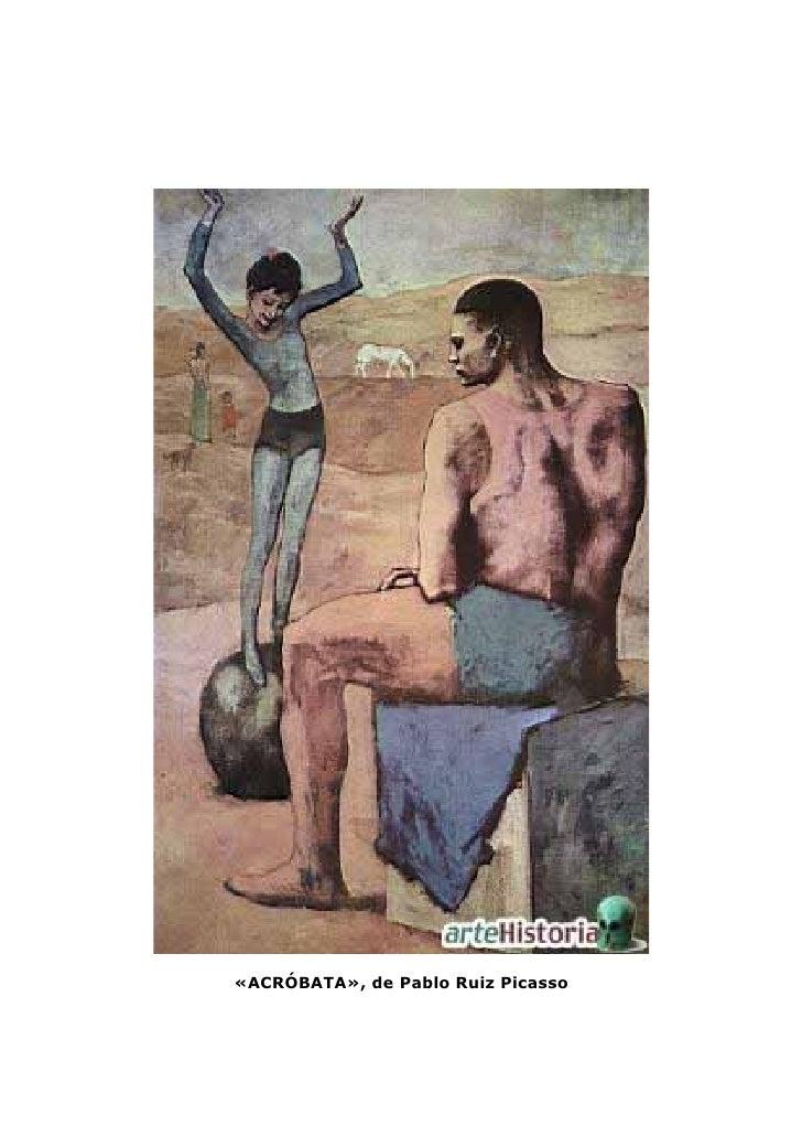 «ACRÓBATA», de Pablo Ruiz Picasso