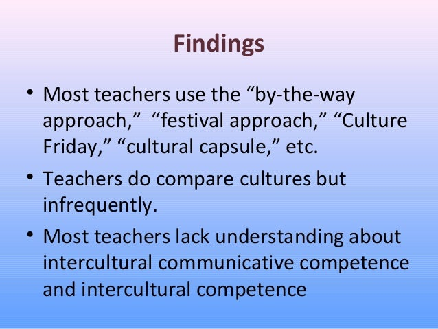 a multi disciplinary approach to teaching cross cultural This constitutes a mixed methods approach  perceptions of a large multi-disciplinary cross-cultural par project  teaching and learning 2015 7(6.
