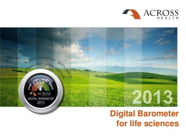 Digital Barometer for life sciences