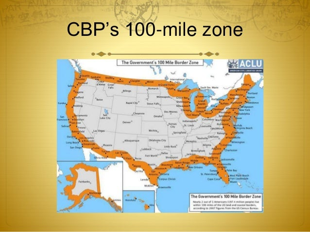 Across The Line Advocacy At Us Ports Of Entry - Us-ports-of-entry-map