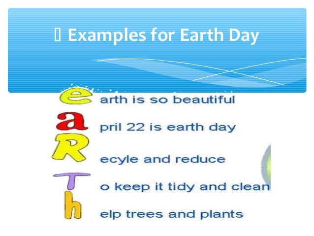 earth day poems for kids - photo #28