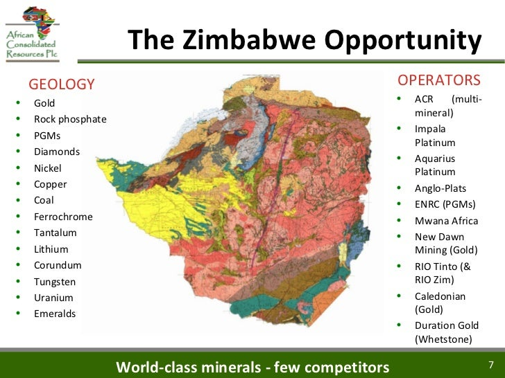 Great Zimbabwe Natural Resources