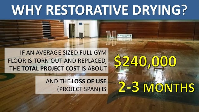 ACR WaterDamaged Gym Floors Reducing Loss Of Use And Operational Ex - How much does a gym floor cost