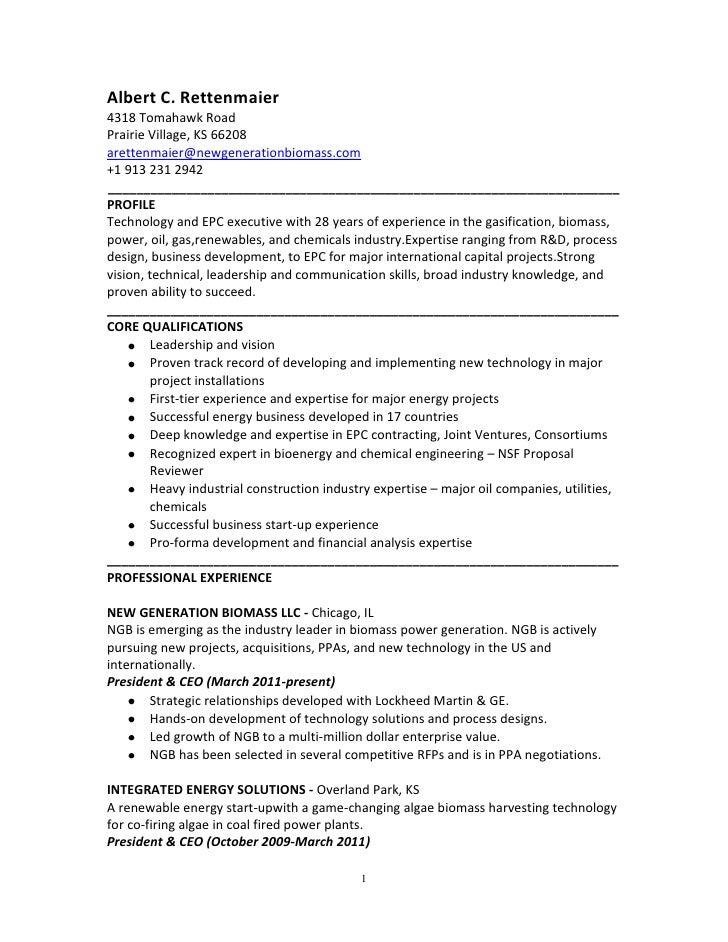 ACR Resume June 2012