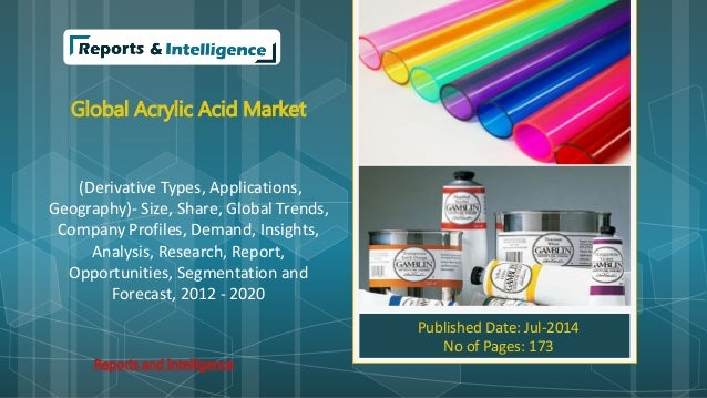 Global Acrylic Acid Market (Derivative Types, Applications, Geography)- Size, Share, Global Trends, Company Profiles, Dema...