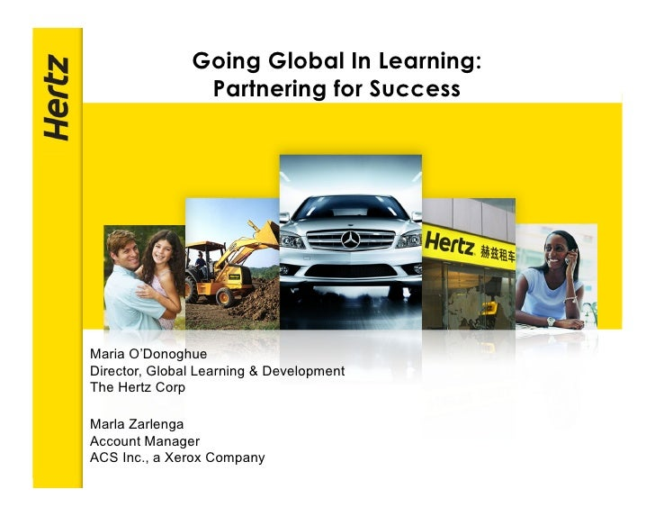Going Global In Learning:                 Partnering for Success                                           POWERPOINT TITL...