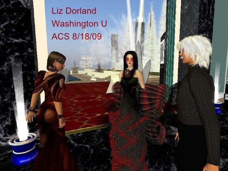 Chimera, Harper Beresford,Tab Scott after Eshi Otawara Fashion Premier Liz Dorland Washington U ACS 8/18/09