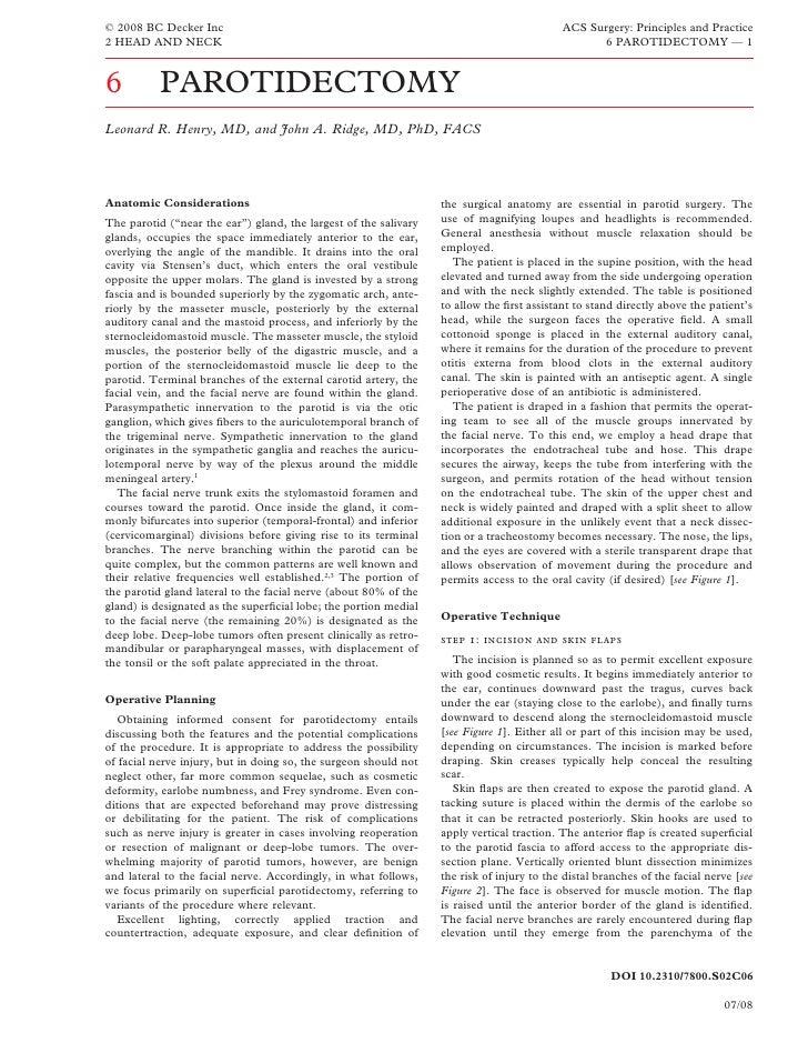 © 2008 BC Decker Inc                                                                       ACS Surgery: Principles and Pra...