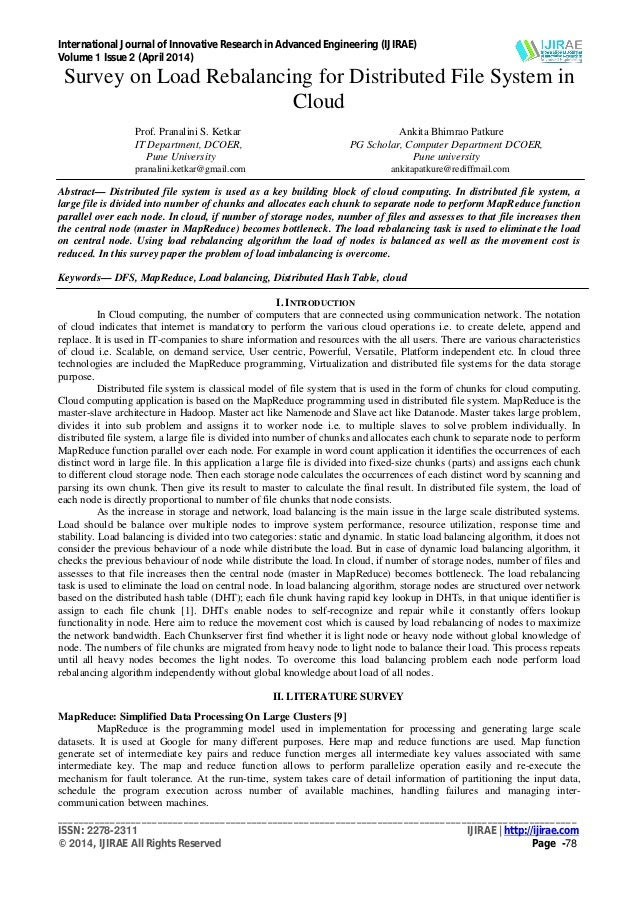 International Journal of Innovative Research in Advanced Engineering (IJIRAE) Volume 1 Issue 2 (April 2014) ______________...
