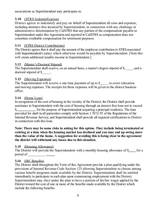 Acsa Supt Sample Contract 1 29 13