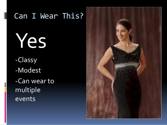 Evening dress etiquette class