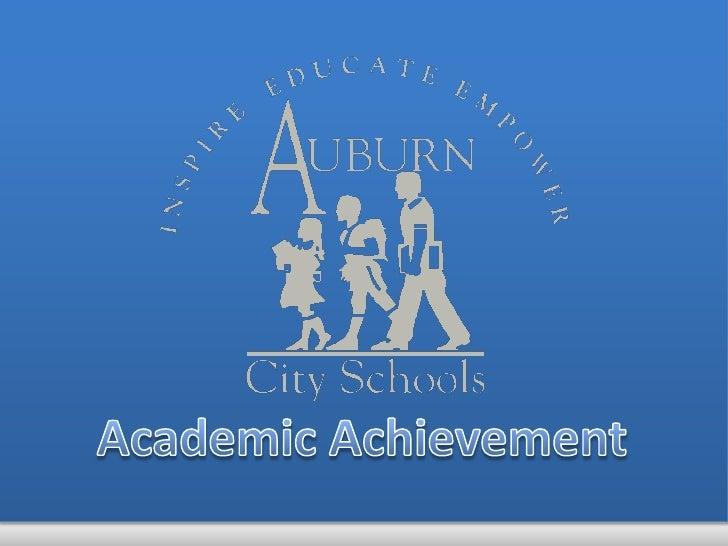 Academic Achievement<br />