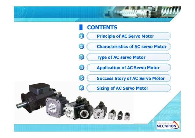 Hydraulic servo motor working principle for Types of servo motor