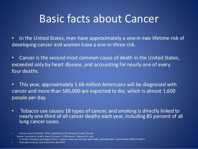the importance of cancer research Research shows patients cite a recommendation from a health care provider as the most important reason for having cancer screening tests 6 why is cancer important many cancers are preventable by reducing risk factors such as:.