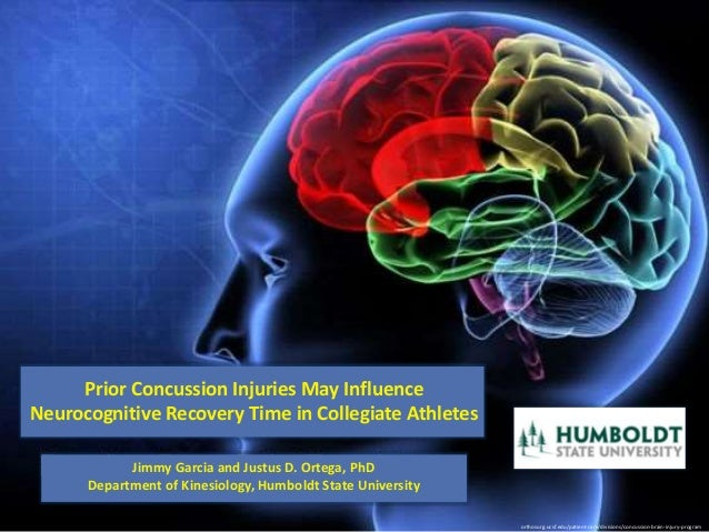 Prior Concussion Injuries Influence Recovery Time in ...
